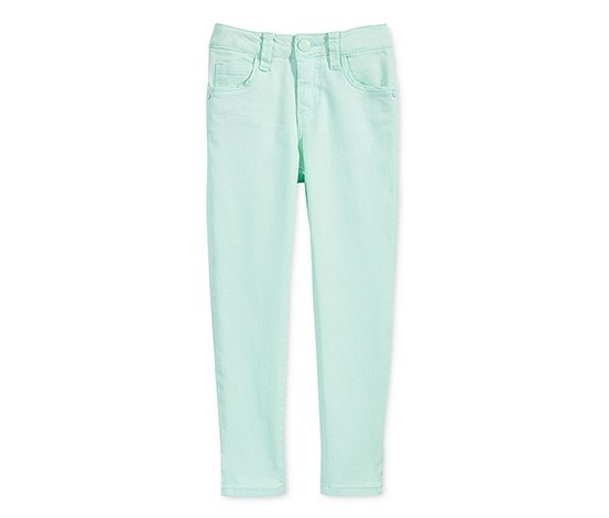 Super Soft Ankle Jeans, Mint