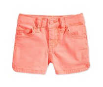 Celebrity Pink Super Soft Little Girl Shorts, Coral