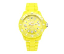 Ice-Watch Men's Classic Solid Plastic Strap Watch, Yellow
