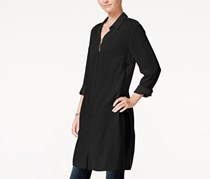 Chelsea Sky Tunic Shirt, Black