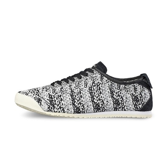 sports shoes ec64a 96f56 Shop Onitsuka Tiger Mexico 66 Knit Unisex Shoes, Black for ...