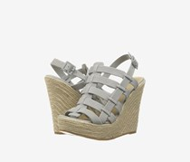 Chinese Laundry Dance Party Wedge Sandals, Grey/Blue