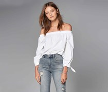 Union Of Angels Women's Off-Shoulder Top, White