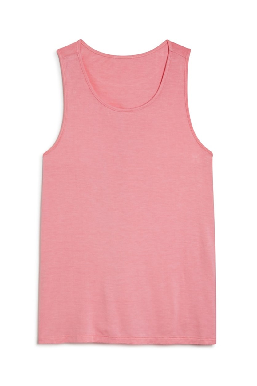 Girls' Twist Back Tank, Pink