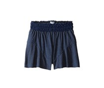 Splendid Girls' Lace Trim Shorts, Indigo