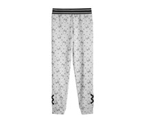 Disney's Minnie Mouse Lace-Up Leggings, Heather Grey