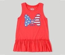 Disney Girls' Minnie Mouse Tank Top, Coral