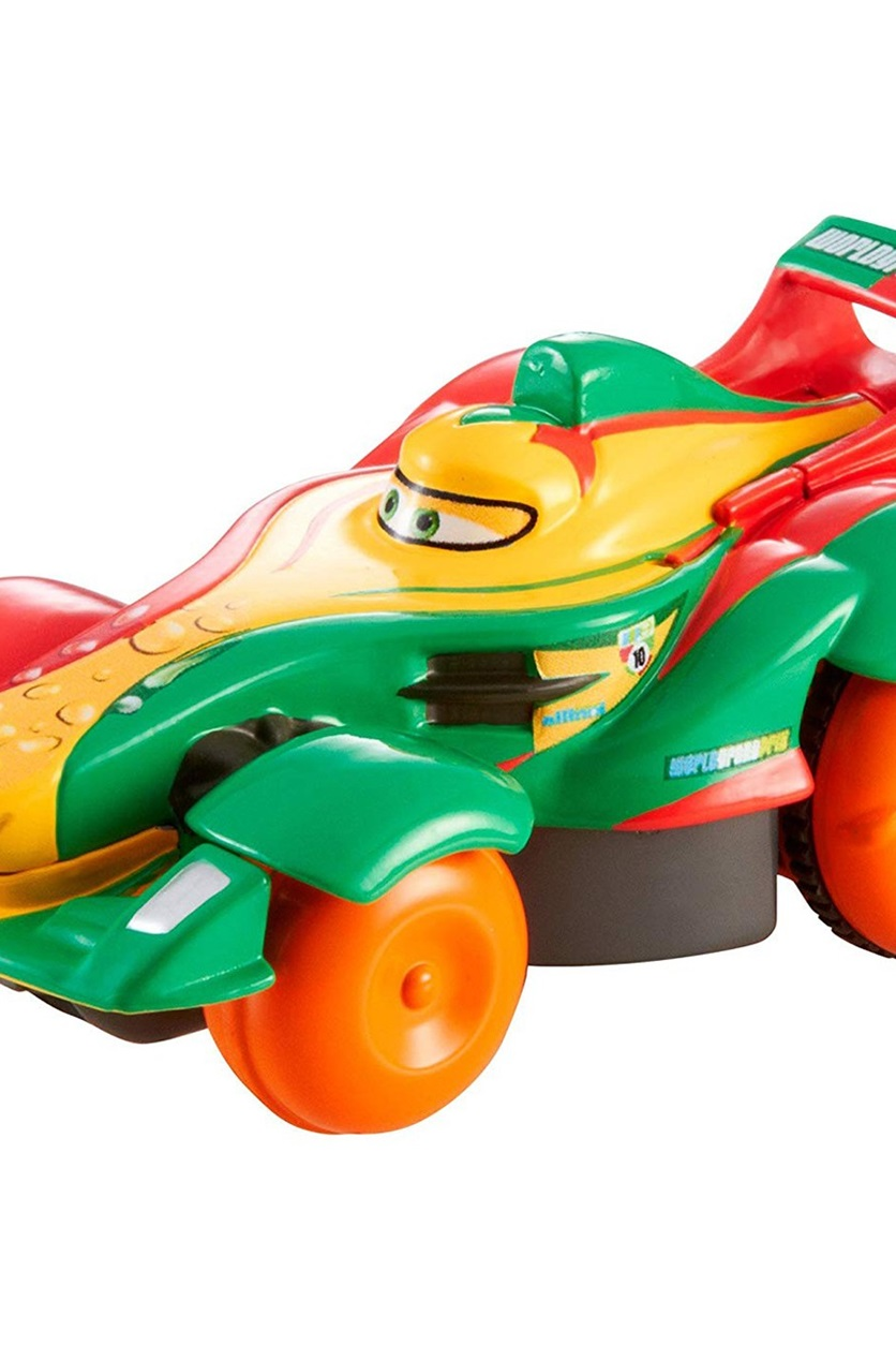 Shop Disney Pixar Cars Hydro Wheels Rip Clutchgoneski Vehicle Yellow Green For Toys In United Arab Emirates Brands For Less