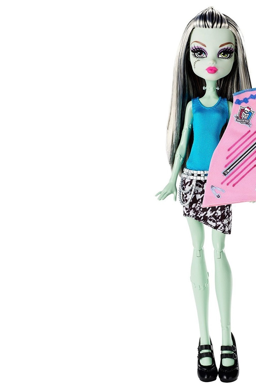 Shop Mattel Monster High Designer Booo Tique Frankie Stein Doll Fashions For Toys In United Arab Emirates Brands For Less