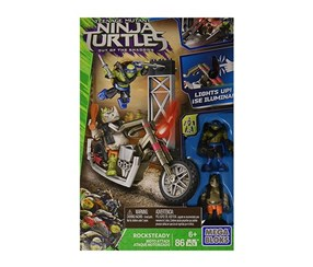 Mega Bloks Teenange Mutant Ninja Turtles Playset, Green/Grey
