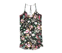 LUSH Women's Floral Dress, Black