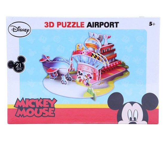 3D Puzzle Mickey Airport