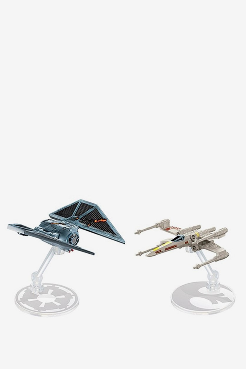 Star Wars The Striker vs. X-Wing Fighter, Off White/Blue