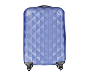 Tahari Lightweight Diamond Luggage 19'', Dark Blue