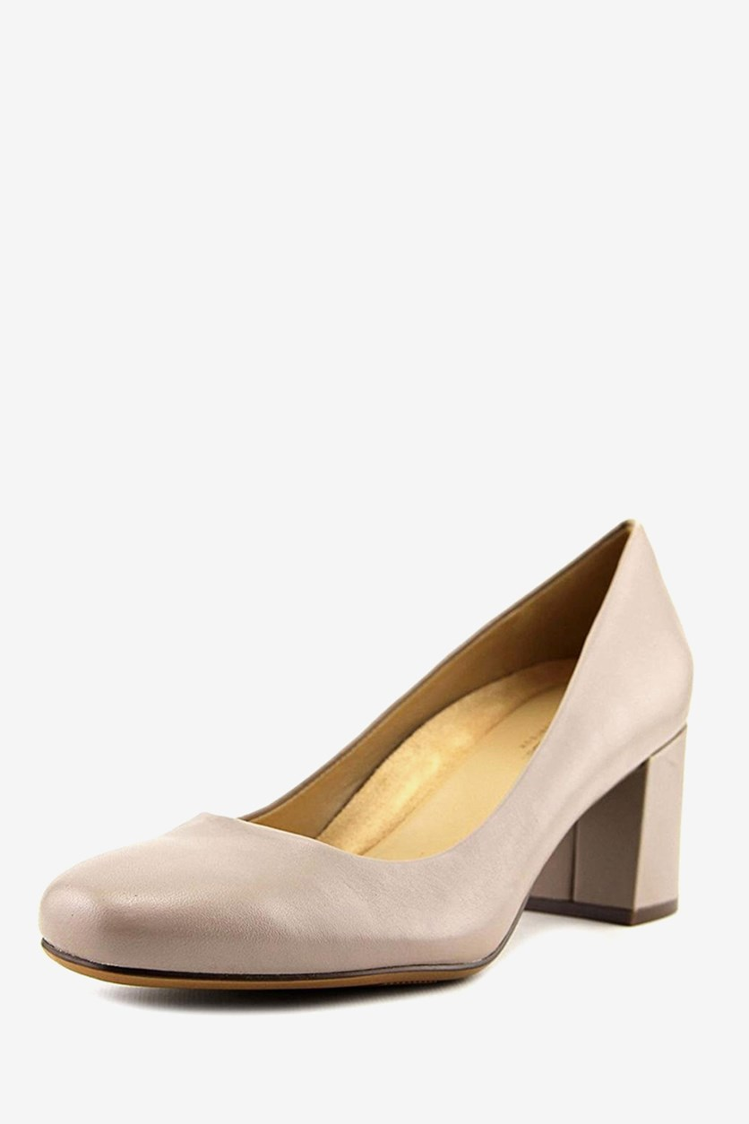 Women's Whitney Dress Pump, Turtle Dove Leather