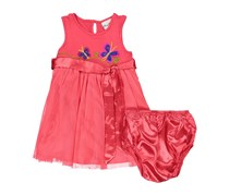 Rare Edition Little Girls Dress, Watermelon