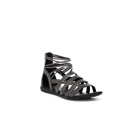 01834aa4c4f Shop BORN Born Womens Angeles Strappy Sandal, Pewter for Women Shoes ...
