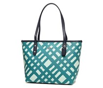Coach Mini City Zip Tote, Blue