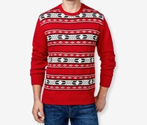 Weatherproof Men's Crewneck Fair Isle Pullover Sweater