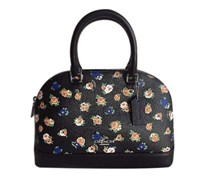 Coach Tearse Sierra Satchel Bag, Black Multi