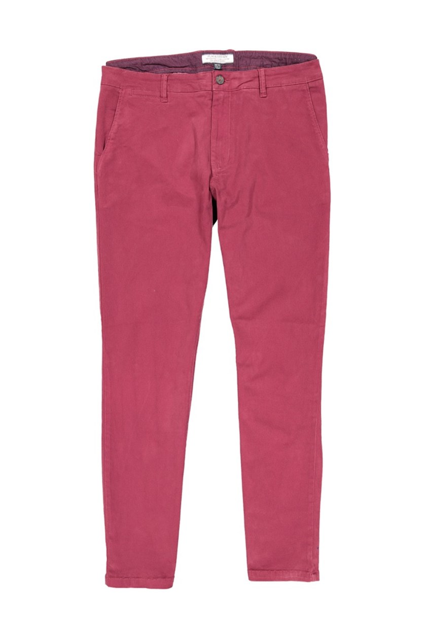 Men's Castleton Chino Pants, Oxblood