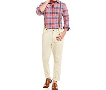 Flag & Anthem Alfred Suspenders Chino Pants, Khaki