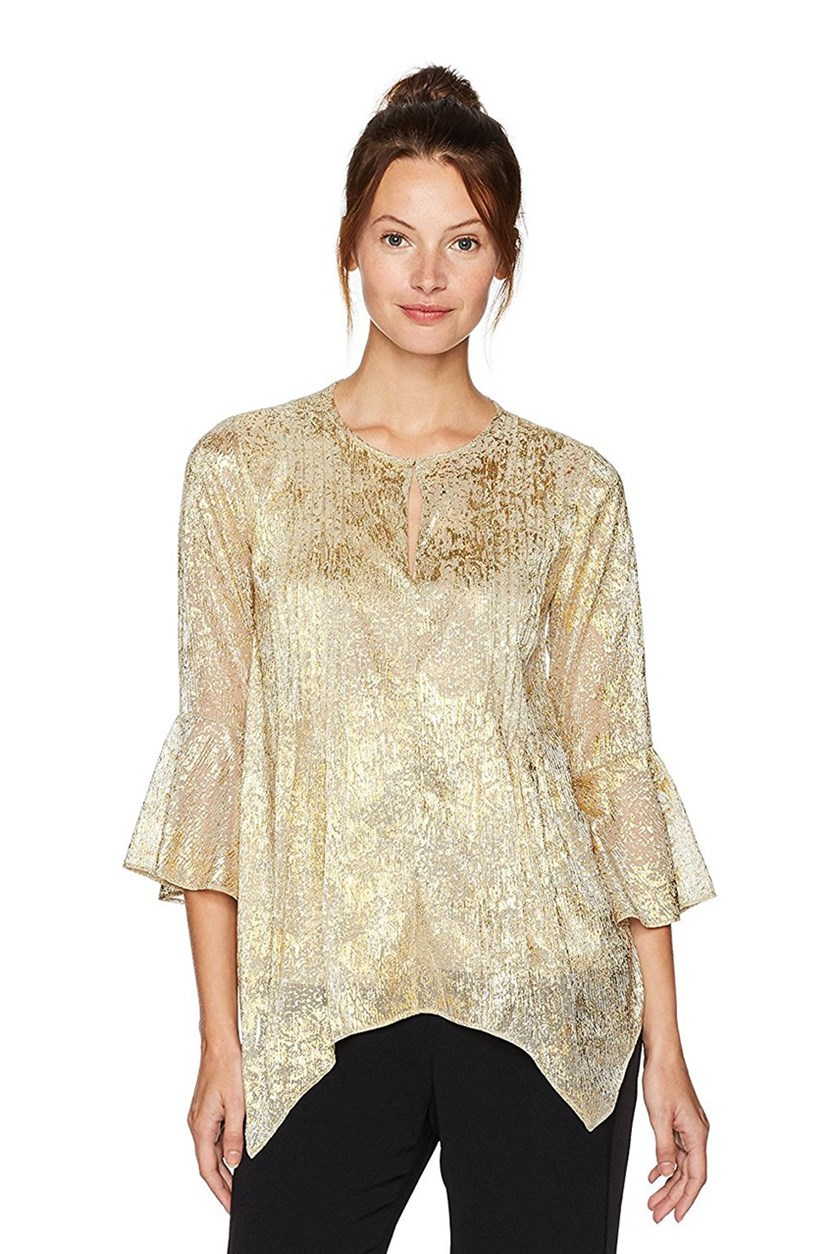 Women's Kate Blouse, Gold