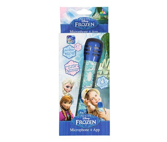 Frozen Microphone APP, Blue/White