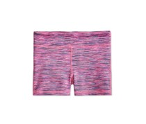 Ideology Kids Girls Space-Dyed Shorts, Sporty Space Dye