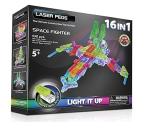 16-in-1 Space Fighter Building Set