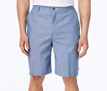 Mens Classic-Fit Chambray Short, Niagra Blue