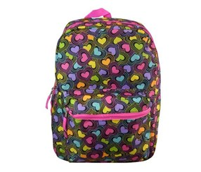 Classic Hearts Backpack, Multicolor