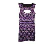Guess Sleeveless Poly Stretch Dress, Purple