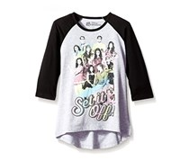 Descendants Big Girls' Both Worlds Raglan Tee