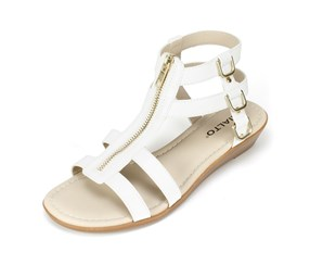 Rialto Gracia Wedge Sandals, White