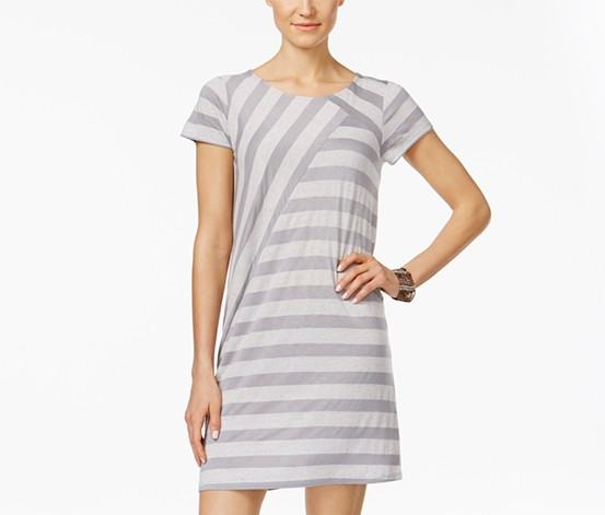 Dresses Persevering Liz Lange Maternity Dreas Siza Xl Coral And White Stripes Maternity