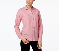 G.h. Bass & Co. Button-Front Shirt, Pink