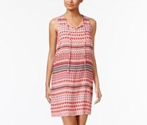 G.h. Bass & Co. Striped Sheath Dress, Coral Pink