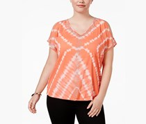 International Concepts Off-The-Shoulder Top, Diamond Tye Dye