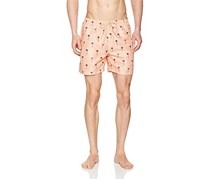 WESC Men's Zack Shorts, Misty Rose