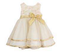 Rare Editions Baby Girls Ballerina Dress,  Ivory
