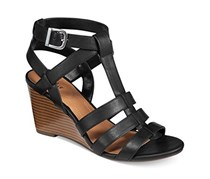 Style & Co Haydar Wedge Sandal, Black