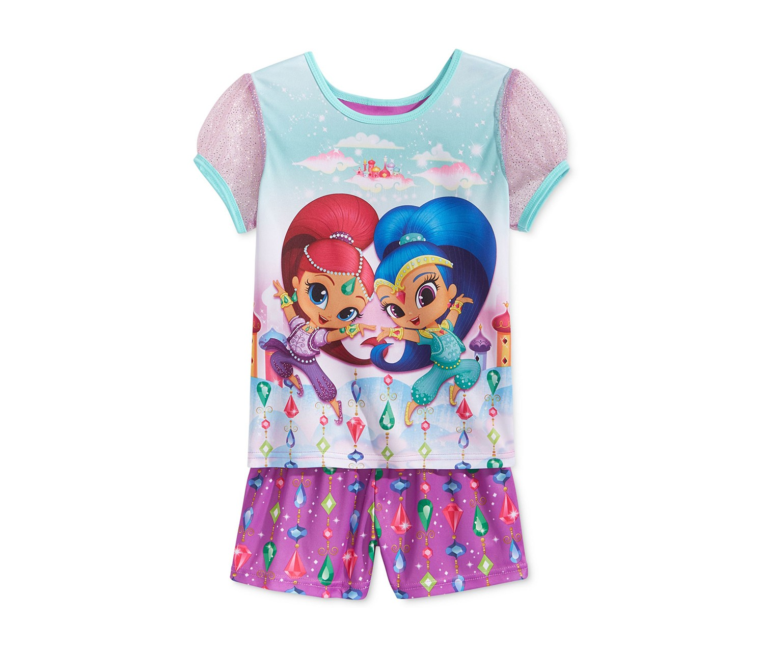 Nickelodeon 2 Pieces Shimmer Shine Set, Purple Combo