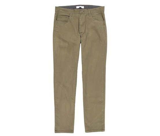 Mens Stretch Pants, Olive
