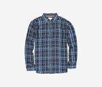 Flag & Anthem Timmonsville Double Layer Shirt, Blue/Black Plaid