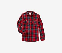 Flag & Anthem Harrisburg Long Sleeve Shirt, Red Plaid