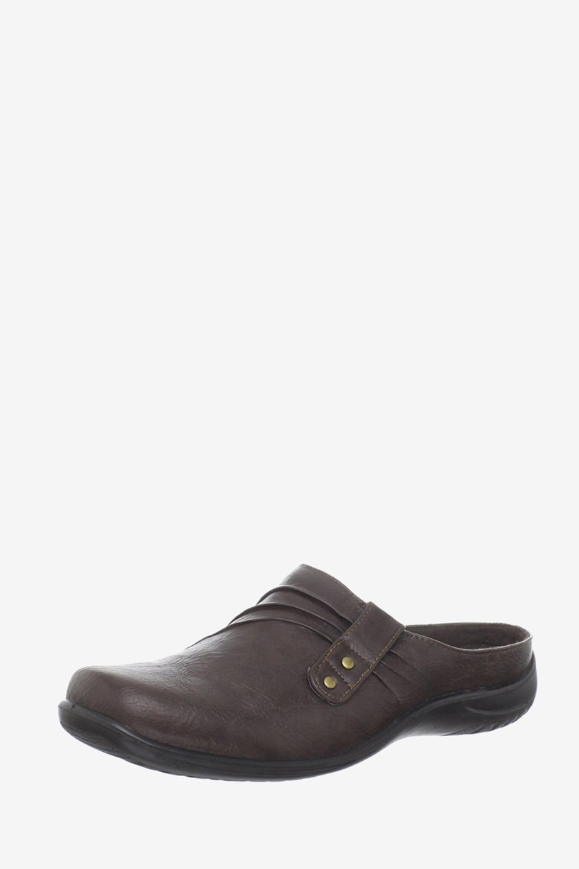 Holly Comfort Clogs, Brown