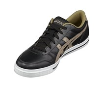 Asics Men Aaron Trainers Shoes, Black/Taupe Shoes