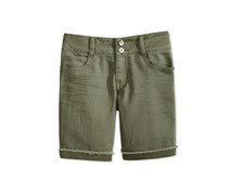 Imperial Star Girl's Bermuda Shorts, Military Olive