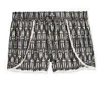 Imperial Star Girls Arrow Short, Black/White